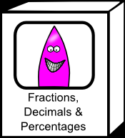 Fractions, decimals and percentages resources